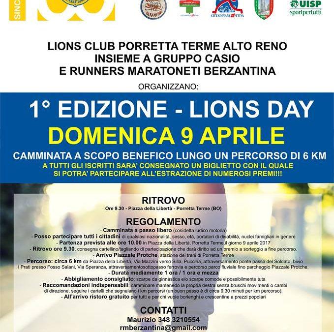 9 Aprile 2017 – 1a Edizione Lions Day