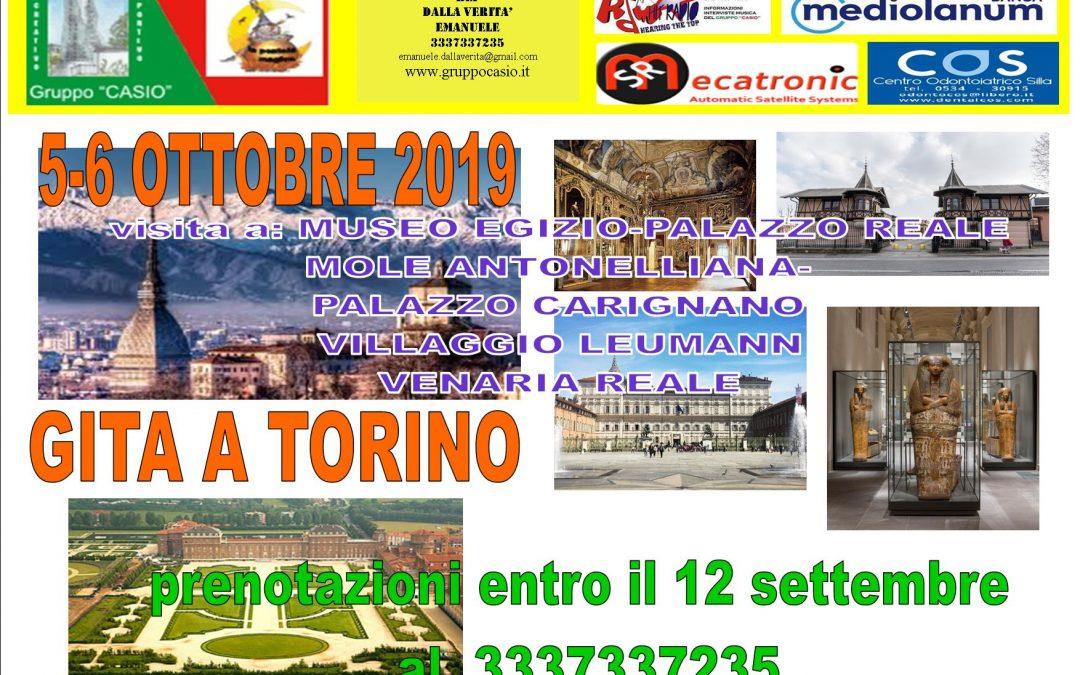 Gita a Torino e Venaria Reale