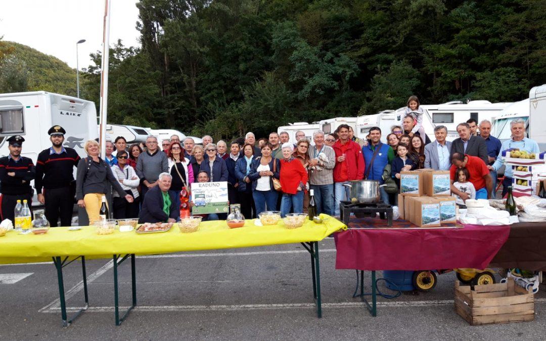 Foto inaugurazione AREA SOSTA CAMPER