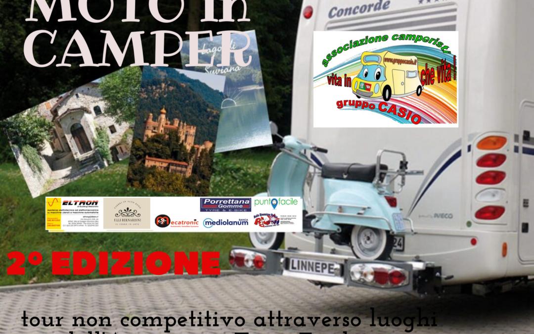 MOTO IN CAMPER 2° EDIZIONE- dedicata a tutti i camperisti con moto al seguito     4-5 settembre 2021
