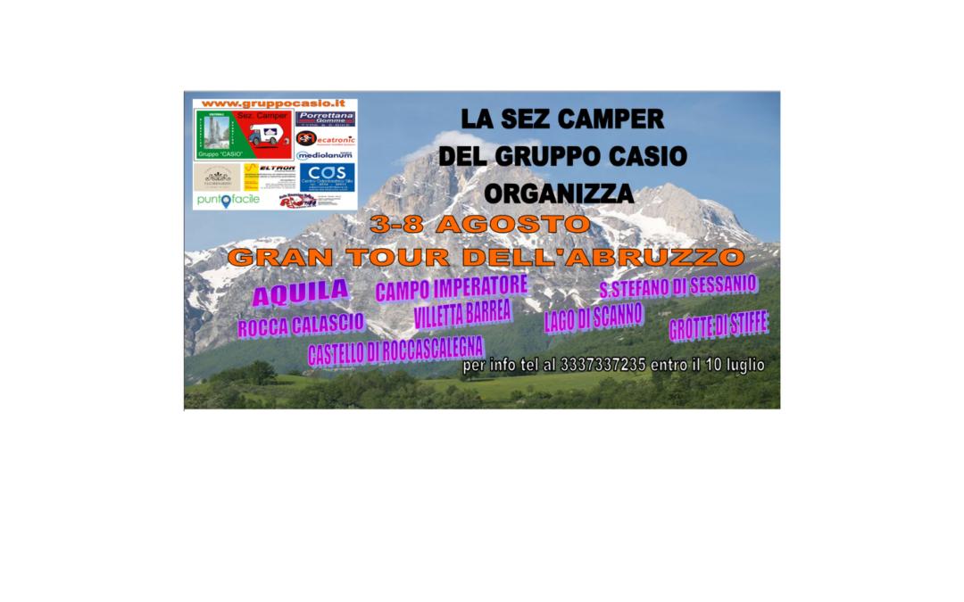 tour ABRUZZO in CAMPER